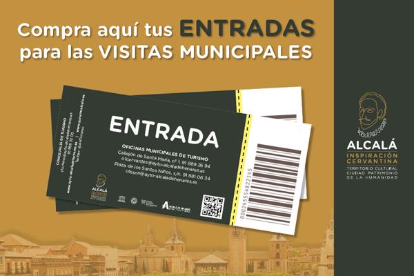 Compra de entradas para las visitas turísticas municipales